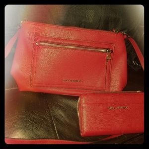 Cranberry Red Purse and matching wallet